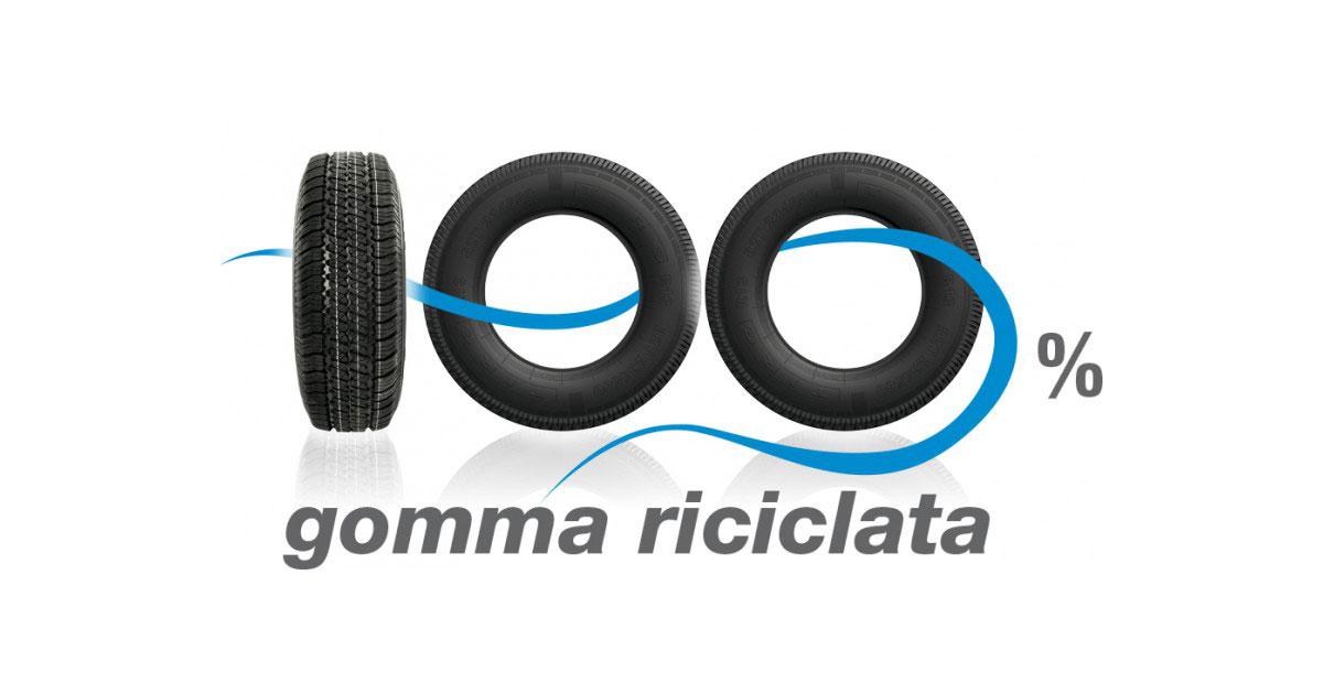 La politica del riciclo di pneumatici fuori uso nelle soluzioni innovative per l'edilizia